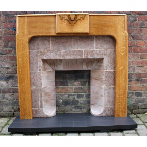 1920'S Fire Surround In Oak 1920/1930