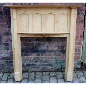Edwardian Fire Surround In Pine