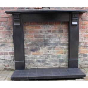 Late Victorian Fire Surround In Slate