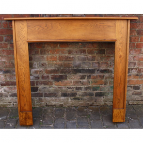 Antique Original 1930'S Oak Fire Surround
