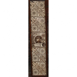 Victorian Fireplace Tiles In Ceramic Aesthetic Aesthetic Arts And Crafts Fireplace Tiles