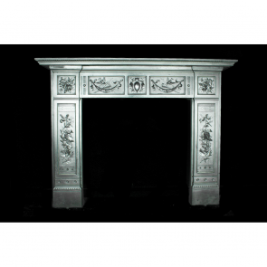 Victorian Fire Surround In Cast Iron Arts & Crafts The Arts