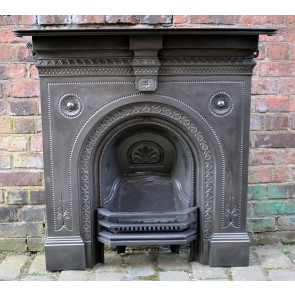Victorian Restored Combination Fireplace