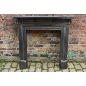 Late Victorian Fire Surround In Cast Iron The Classic