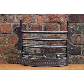 Antique fire front bars