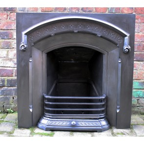 Antique Victorian cast iron insert.