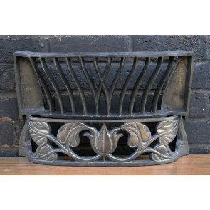Cast iron fire front