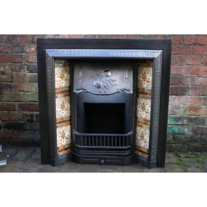 Reclaimed Victorian Cast Iron Fireplace