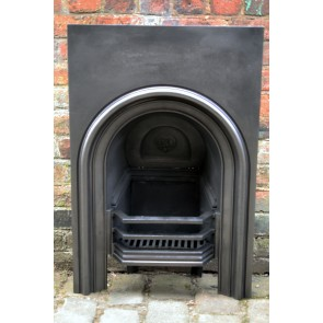 Antique Victorian Reclaimed Small Arched Fire Grate